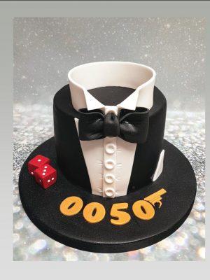james bond cake|007 cake