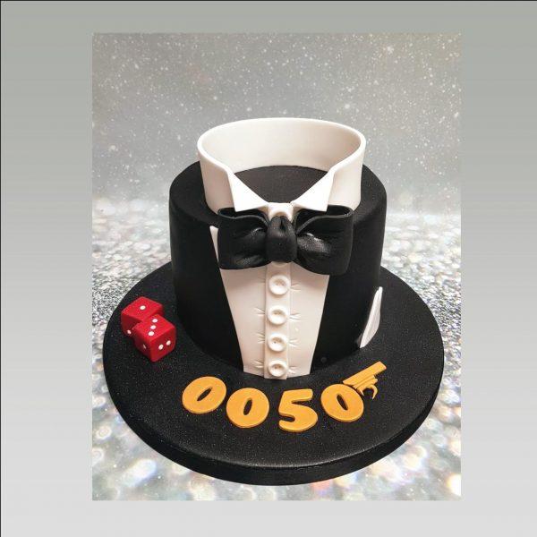 james bond cake 007 cake