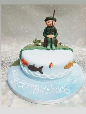 fishing cake|fisherman cake