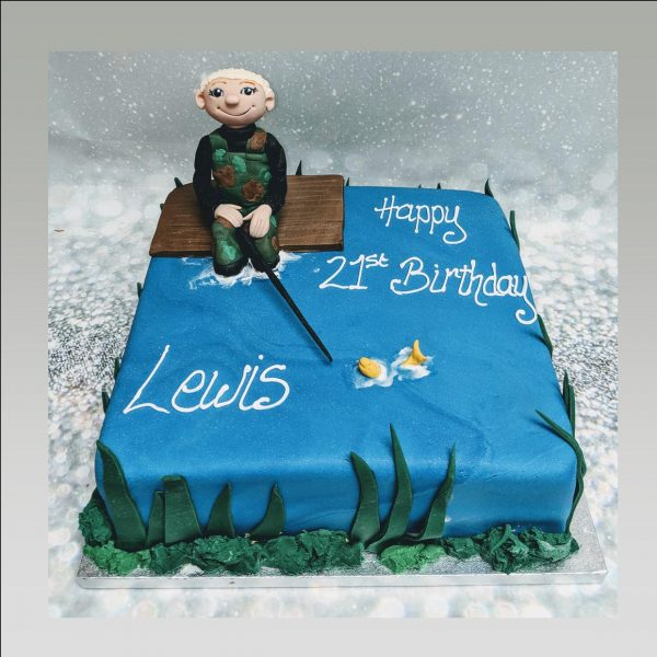 fisherman cake|fishing cake