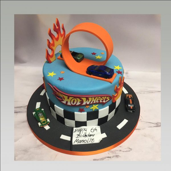 hot wheel cake