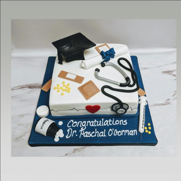 medical graduation cake|doctor cake|nurse cake|graduation cake