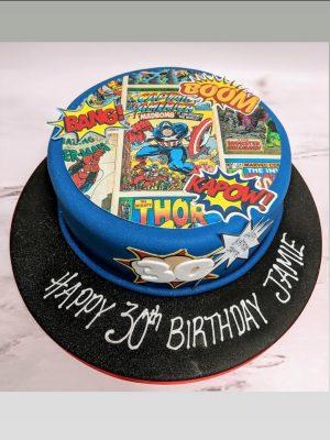 marvel cake|avengers cake|super hero cake