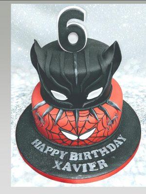 spider man cake|deadpool cake|marvel cake|avengers cake