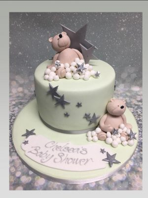 baby shower cake|christening cake