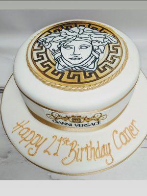 versace cake|designer cake