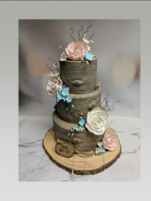 wedding cake|bark wedding cake|wood wedding cake|tree wedding cake