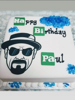 breaking bad cake|birthday cake