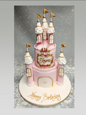 castle cake|princess cake