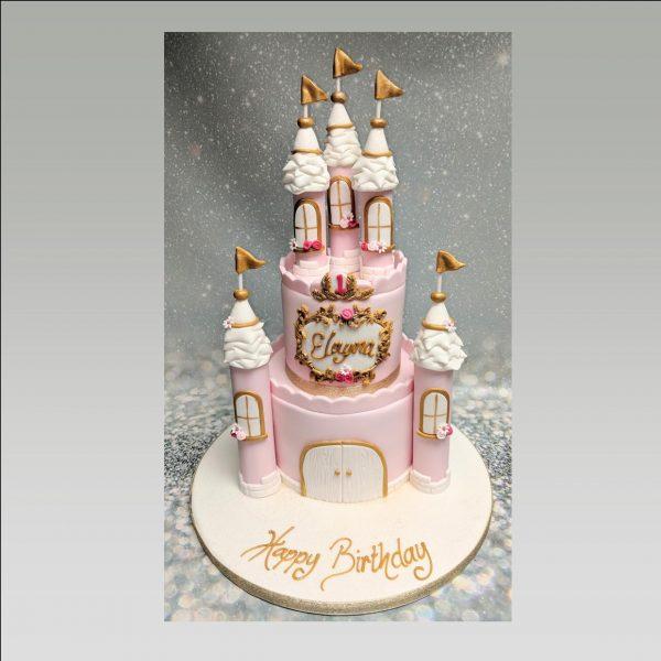 castle cake|princess cake