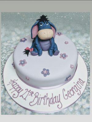 eyore cake|disney cake