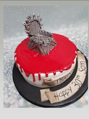 game of thrones birthday cake