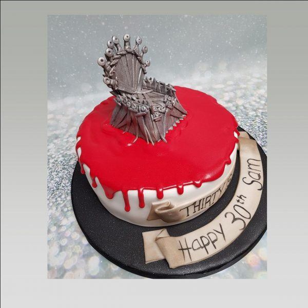 game of thrones birthday cake