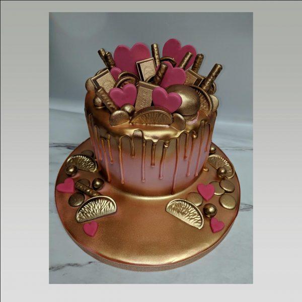 drip cake chocolate cake