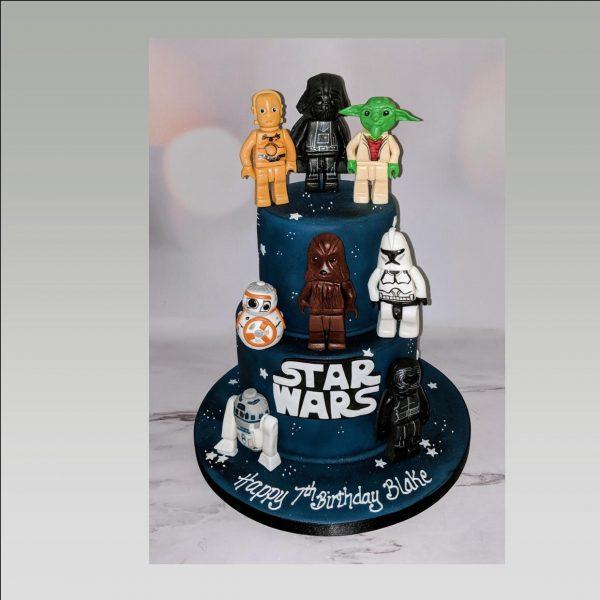 lego cake|star wars cake|birthday cake