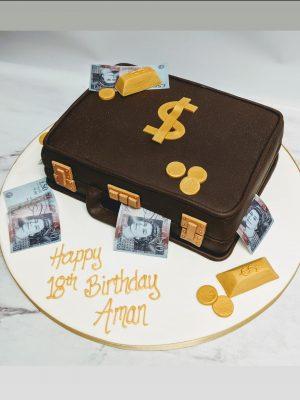 money cake|suitcase cake