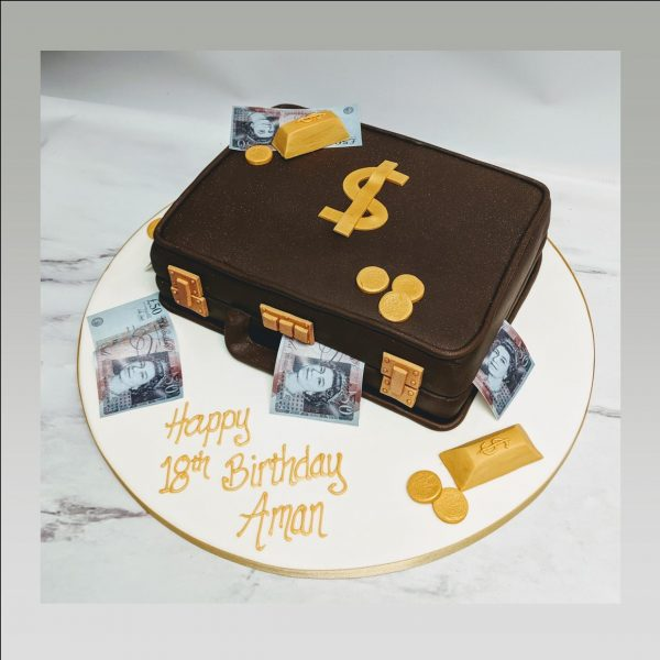 money cake|suitcase cake