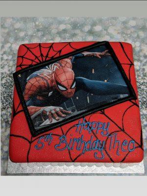 spiderman cake|photo cake|super hero cake|marvel cake