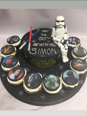 star wars cake|star wars cupcakes