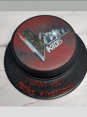 the voice cake