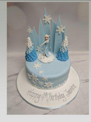 frozen 2 cake|elsa cake|birthday cake