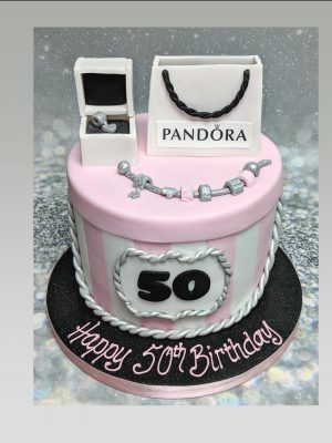 Pandora cake|ladies cake|jewellery cake