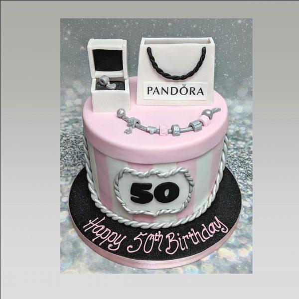 Pandora cake|ladies cake|jewellery cake