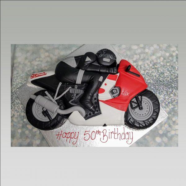 motorbike cake/bike cake