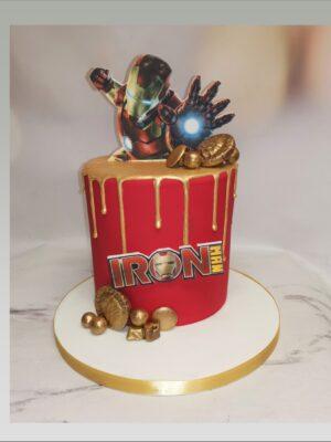 ironman cake,marvel cake,avengers cake